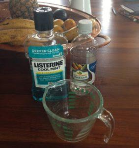 Listerine Foot Soak Ingredients