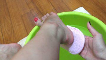 Listerine Foot Soak for Dead Skin