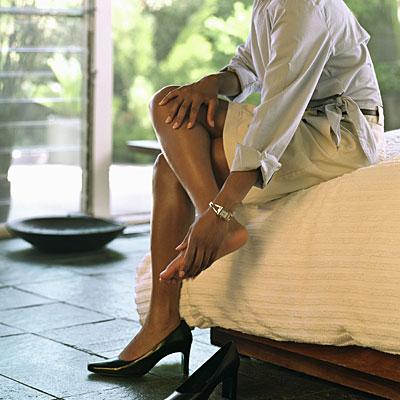 Sore feet treatment home