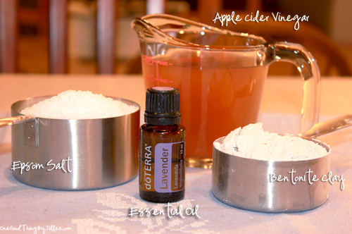 Vinegar Foot Soak Ingredients