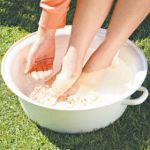 Vinegar Foot Soak while Pregnant