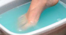 Foot Soak for Toenail Fungus