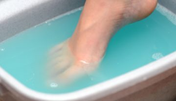 Foot Soak for Toenail Fungus