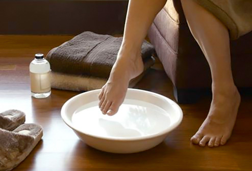 Vinegar Feet Care | Listerine Foot Soak