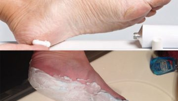 Listerine Foot Soak And Shaving Cream
