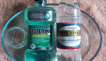 Use Listerine To Kill Germs