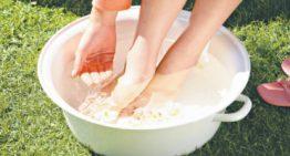 Vinegar Foot Soak while Pregnant