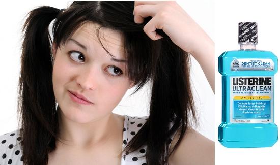 Get Rid Of Dandruff Using Listerine