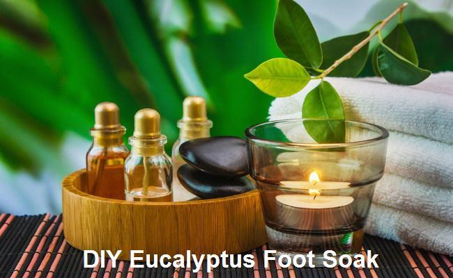 DIY Eucalyptus Foot Soak