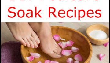 DIY Pedicure Soak Recipes