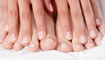 DIY Whiten Your Feet Nails