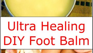 Ultra Healing DIY Foot Balm
