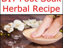 DIY Foot Soak Herbal Recipe