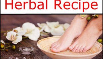 DIY Foot Soak Herbal Recipe