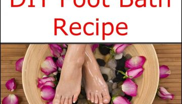 Ultimate Detox DIY Foot Bath Recipe